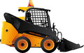 Mini bulldozer Royalty Free Stock Photo