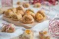 Mini Christmas Stollen Cookies
