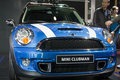 Mini clubman car on display Royalty Free Stock Images