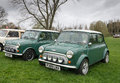 Mini cooper birmingham uk april vehicles on display at the annual pride of longbridge motor show on april in birmingham uk any Stock Image