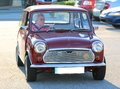 Mini cooper british motor car antique automobile manufactured in great britain Royalty Free Stock Photos