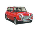 Mini cooper illustration of a Stock Images