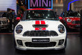 Mini cooper s car at the th thailand international motor expo on december in bangkok thailand Royalty Free Stock Photos