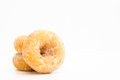 Mini donuts sugar Royalty Free Stock Photo