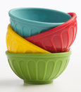 Mini Measuring Bowls 3 Royalty Free Stock Photos