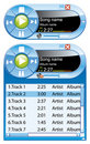 Mini music player Stock Photography