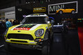 Mini off road racer at the geneva motor show on display during switzerland march Royalty Free Stock Photo