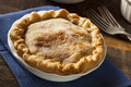 Mini peach pie dessert Royaltyfri Bild
