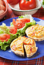 Mini Quiche Lorraine Stock Photos
