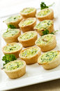 Mini quiches Royalty Free Stock Photography