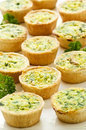 Mini quiches Royalty Free Stock Image