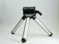 Mini tripod multipurpose for camera Royalty Free Stock Image