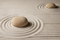 Mini zen garden Stock Photo