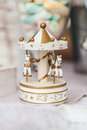 Miniature of carousel soft focus using very shallow depth of fi field Royalty Free Stock Image