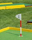Miniature golf Stock Photography