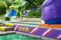 Miniature golf course Royalty Free Stock Photo