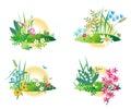 Miniature nature scenes