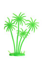 Miniature Palm Tree Royalty Free Stock Photos