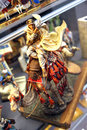 Miniature scene - camel rider Royalty Free Stock Photo