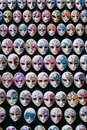 Miniature venetian carnival masks Royalty Free Stock Photography