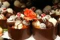 Miniatúrne svadba dezerty