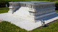 Miniaturk istanbul reduced copy of pergamon altar in the an turkey july park turkey built during reign king eumenes ii Stock Image