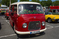 Minibus ford taunus transit ford fk berlin germany may th oldtimer day berlin brandenburg Royalty Free Stock Photography
