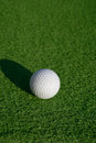 Minigolf ball Royalty Free Stock Photography