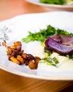 Minimal dish Royalty Free Stock Photo