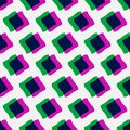 Minimal pattern colorful stylish seamless Royalty Free Stock Photography
