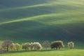 Minimalism Amazing Landscape for seasonal background or wallpape Royalty Free Stock Photo