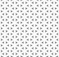 Minimalist geometric seamless texture, windmills