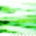 Minimalistic green defocused background with geometric ornament eps Royalty Free Stock Photography