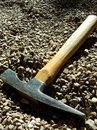 Mining Chisel Hammer  Royalty Free Stock Image