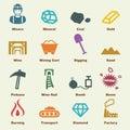 Mining elements