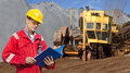 Mining foreman Royalty Free Stock Photo