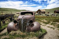 Mining Ghost Town of Bodie California Royalty Free Stock Photo