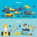 Mining industry heavy machinery automobile wheeled