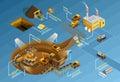 Mining Infographic Set