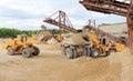 Mining machinery Royalty Free Stock Photo