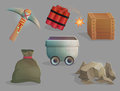 Mining natural resources tools and items