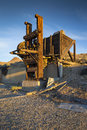 Mining stamp mill, Tunnel Camp, Nevada Royalty Free Stock Photo