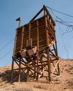 Mining Structure, Ore Chute Royalty Free Stock Photography