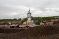 Mining town Røros Royalty Free Stock Photo