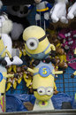 Minion prizes this is a prize at a state county fair or a amusement park Royalty Free Stock Images
