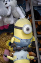 Minion prizes this is a prize at a state county fair or a amusement park Royalty Free Stock Photo
