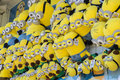 Minions soft plush toys melbourne australia september close up of in the royal melbourne show Royalty Free Stock Image