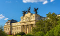 Ministry of agriculture in madrid spain Royalty Free Stock Images