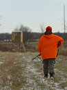A Minnesota Deer Hunter Royalty Free Stock Photo