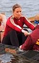 Minnesota row s drużynowe kobiety Obrazy Royalty Free